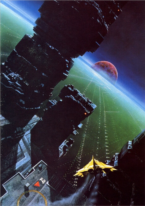 Ender's Game, the original mysterious cover art that will now be superseded by the 'Now a Major Motion Picture' version